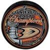 Puk Anaheim Ducks 2007 Stanley Cup Champions