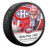 Puk Montréal Canadiens Carey Price #31 NHLPA