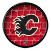 Nástenné Hodiny Calgary Flames Team Net Clock