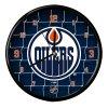 Nástenné Hodiny Edmonton Oilers Team Net Clock