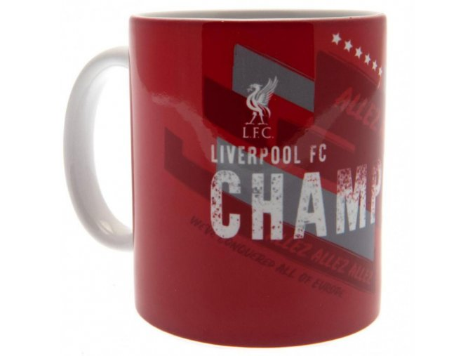 Hrnek Liverpool FC Champions Of Europe