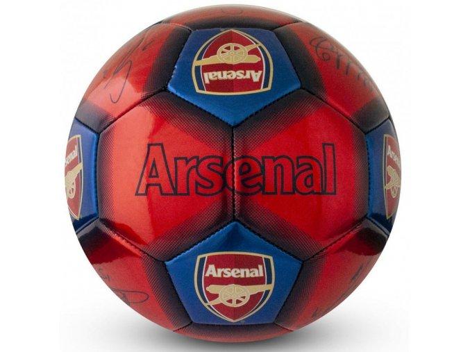Fotbalový Míč Arsenal FC S Podpisy Hráčů nw
