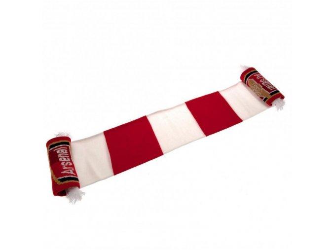 Šála Arsenal FC pruhovaná