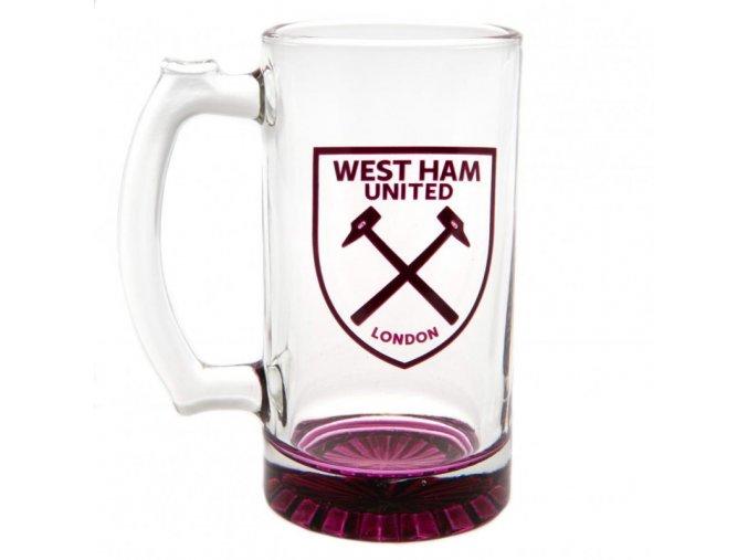 Pivní Sklenice West Ham United FC