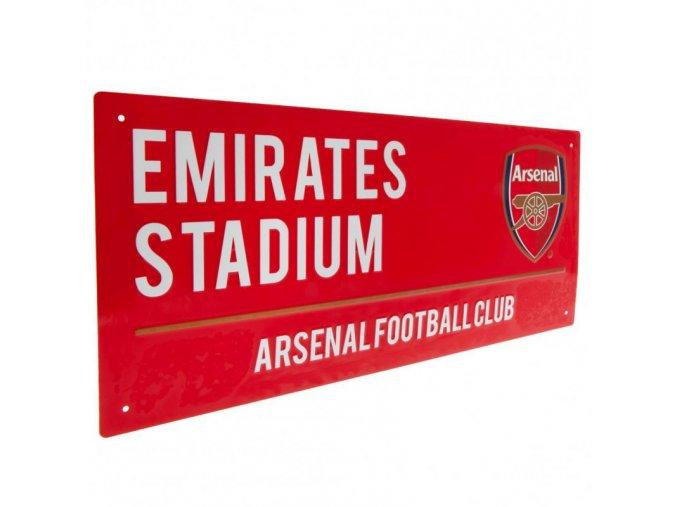 Cedule Arsenal FC Název Ulice rd