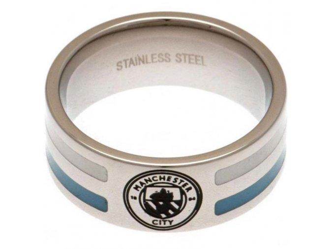 Prstýnek Manchester City FC Colour Stripe S