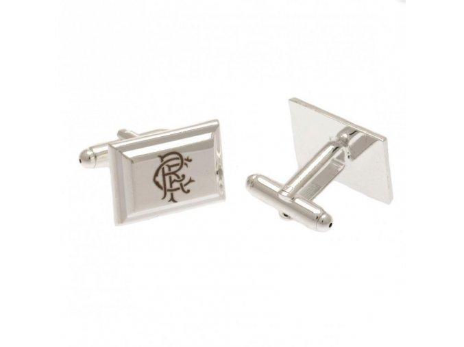 Manžetové Knoflíčky Rangers FC postříbřené