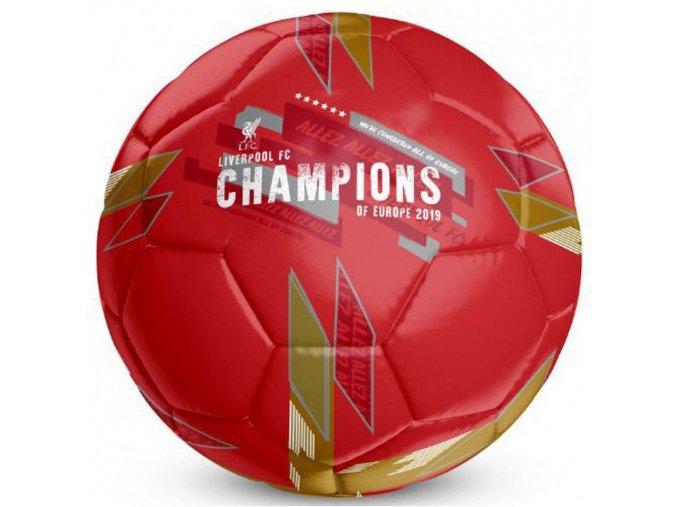 Fotbalový Míč Liverpool FC Champions Of Europe