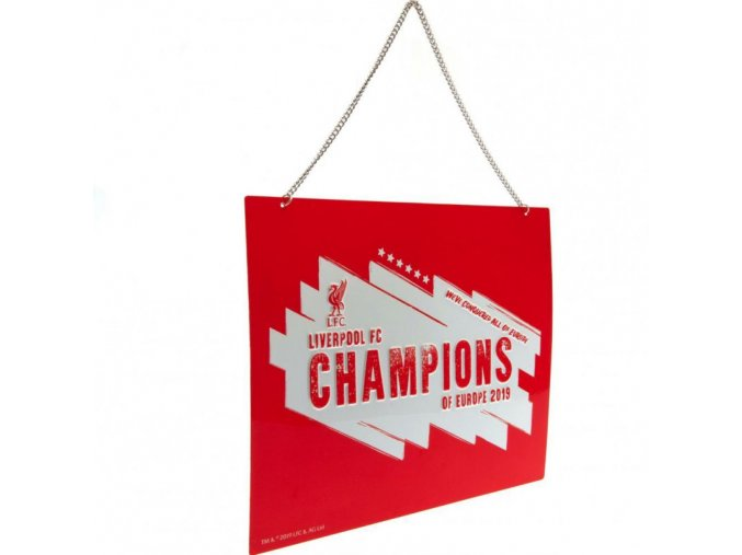 Cedule Liverpool FC Champions Of Europe