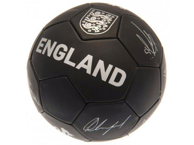 Fotbalový Míč England FA S Podpisy Hráčů ph