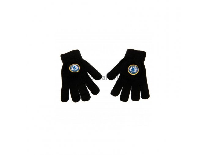 Pletené Rukavice Chelsea FC Junior