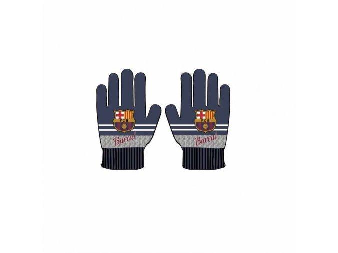 Rukavice Barcelona FC Dětské bl