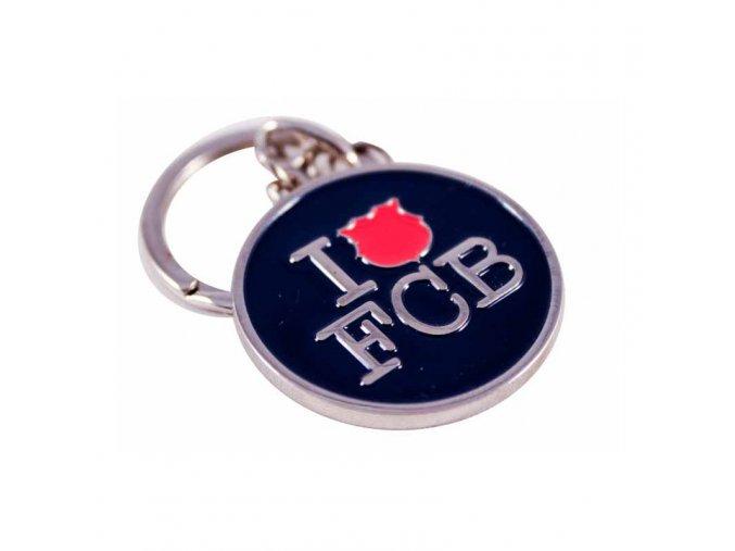 Přívěšek Barcelona FC I love FCB