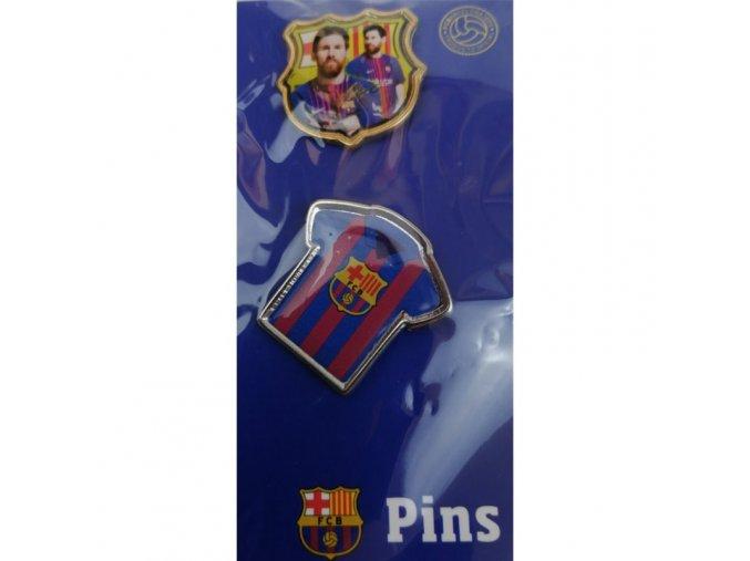Odznak Barcelona FC Dres + Messi