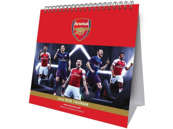 Kalendář Arsenal FC 2019