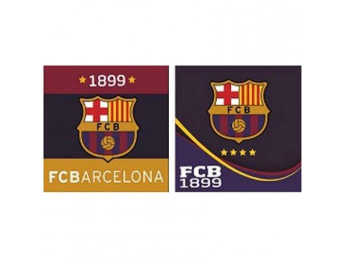Ručník Barcelona FC Sada 2ks ab