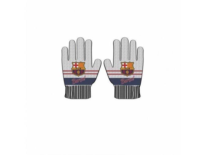 Rukavice Barcelona FC Dětské gr