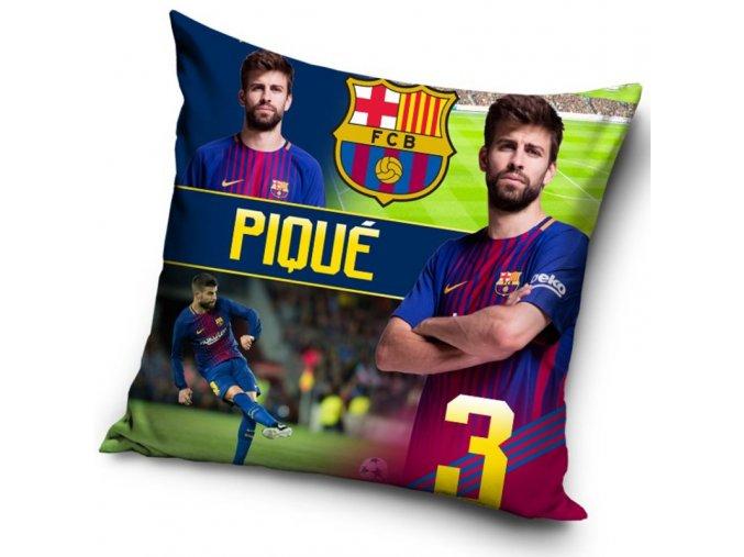 Polštářek FC Barcelona Piqué 2018
