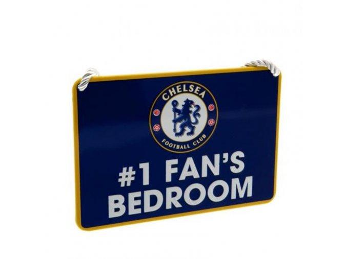 Cedule Chelsea FC Pokojíček No 1 Fan