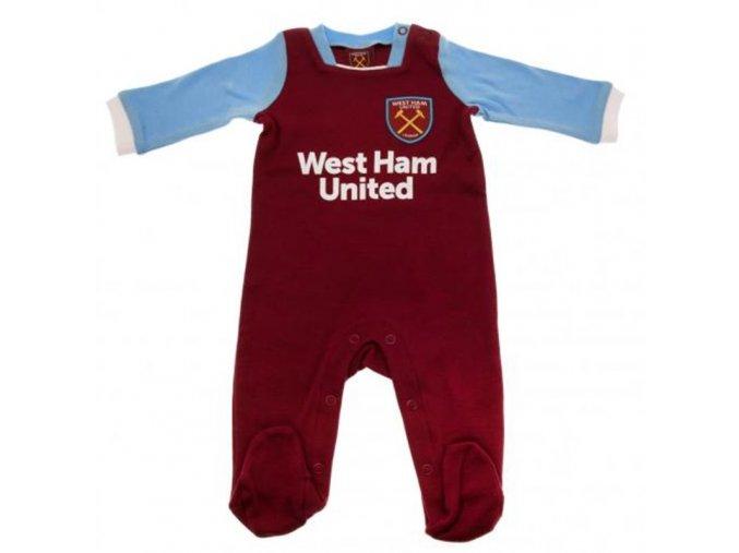Dětské Pyžamo West Ham United FC 6/9 měsíců