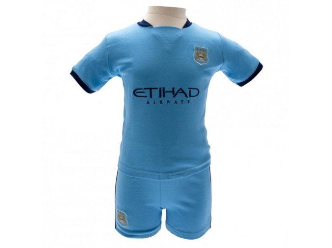Tričko a Šortky Manchester City FC Komplet 9/12 měsíců
