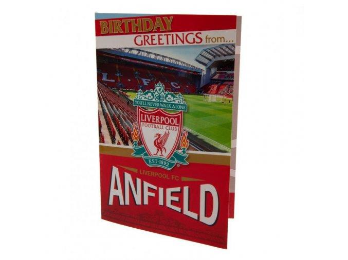 3D Přání Liverpool FC Stadion