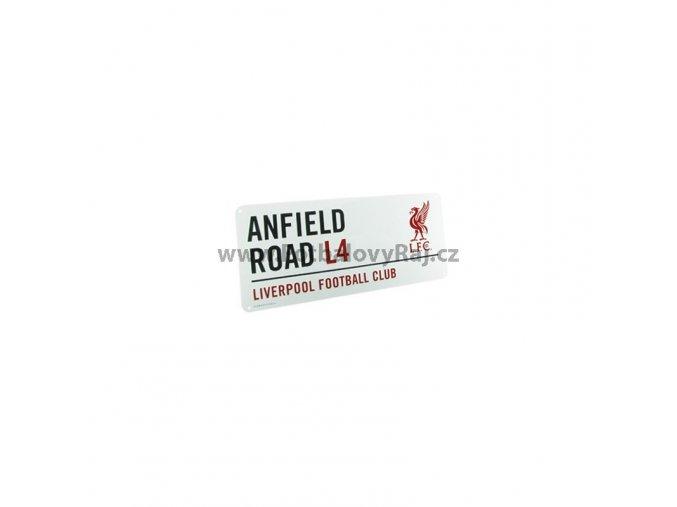 Cedule Liverpool FC Název Ulice lb