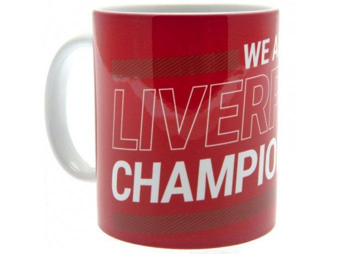 Hrnek Liverpool FC League Champions 19-20