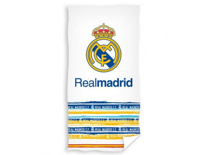 Fotbalová osuška Real Madrid White