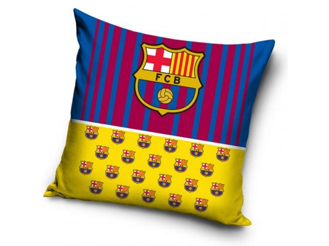 Povlak na polštářek Barcelona FC Half Yellow