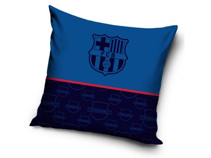 Fotbalový polštářek FC Barcelona Only Blue