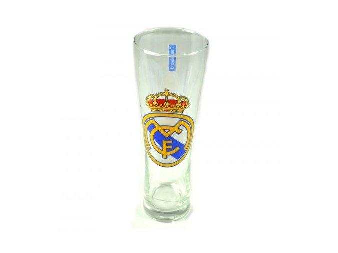 Vysoká Pivní Sklenice REAL MADRID FC