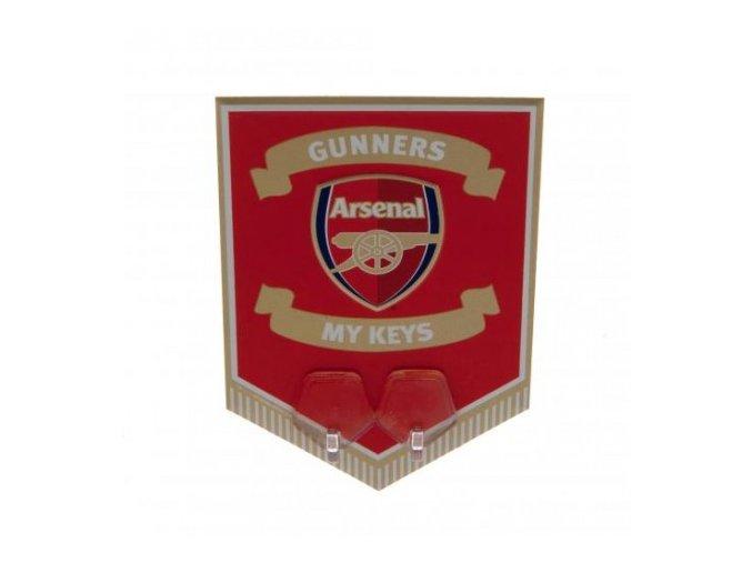 Věšák Na Klíče Arsenal FC Vlaječka