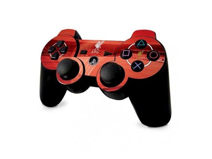Skin (fólie) na ovladač pro PS3 Liverpool FC lb