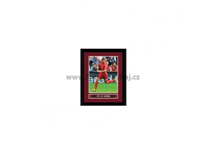 Obraz Liverpool FC Borini 20x15cm