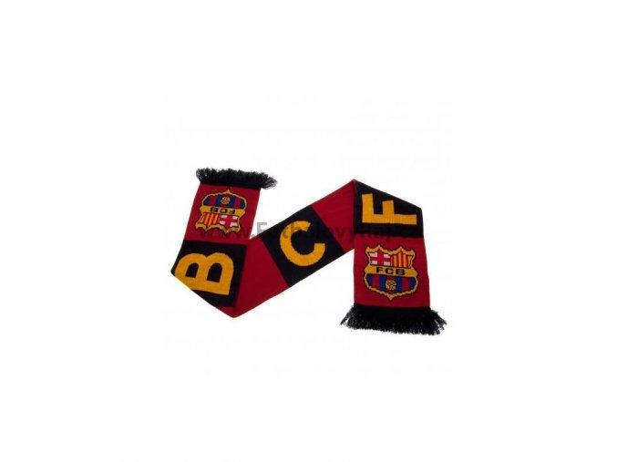Šála Barcelona FC pruhovaná
