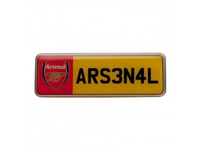 Odznak Arsenal FC Poznávací Značka