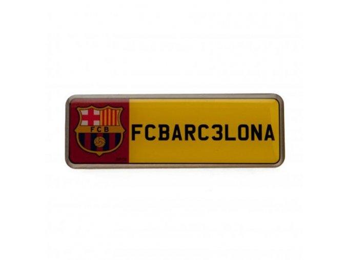 Odznak Barcelona FC Poznávací Značka