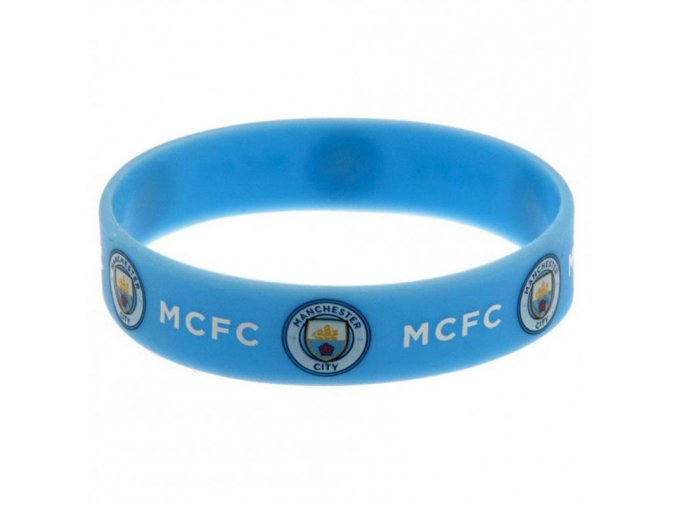 Silikonový Náramek Manchester City