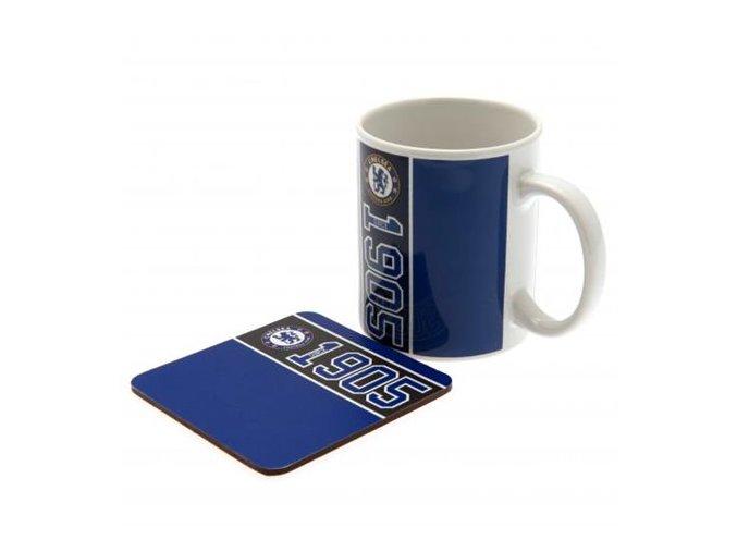 Hrnek Chelsea FC s táckem