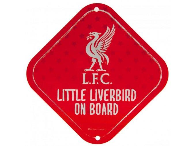 Cedule Liverpool FC Dítě v Autě