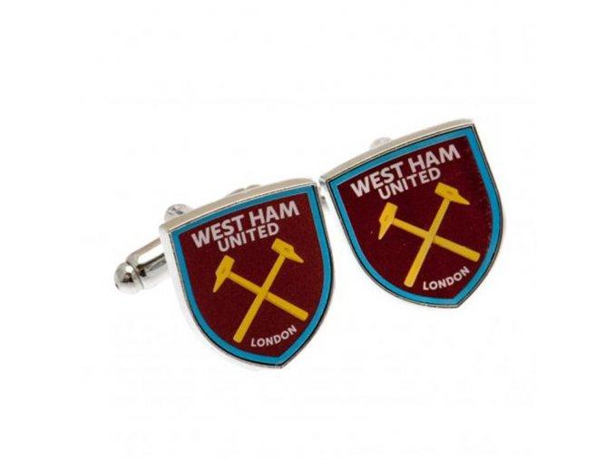 Manžetové Knoflíčky West Ham United FC