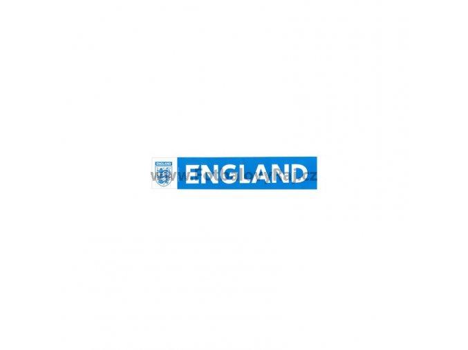 Samolepka na auto England FA modrá