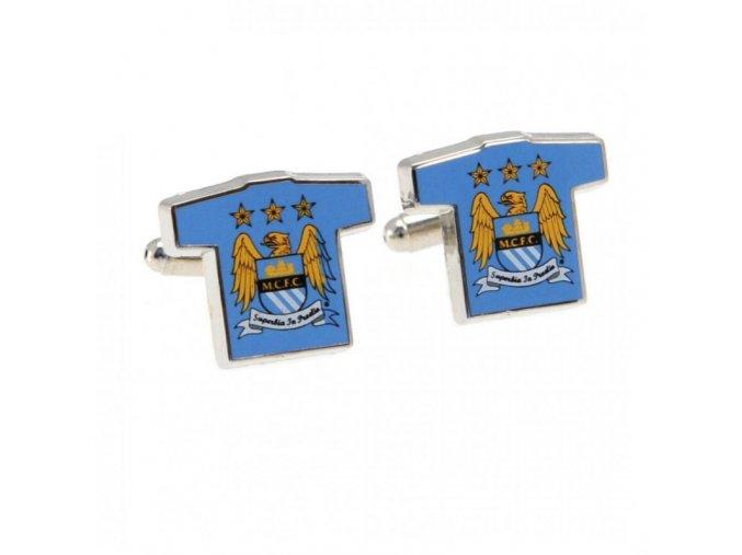 Manžetové Knoflíčky Manchester City dres
