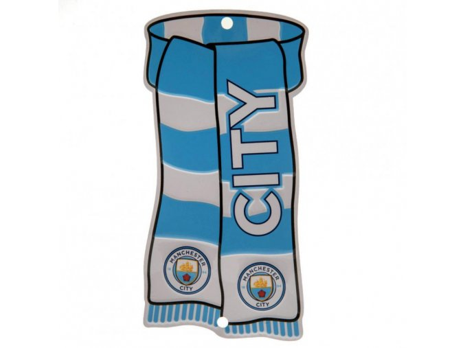 Cedule Manchester City FC Šála na okno