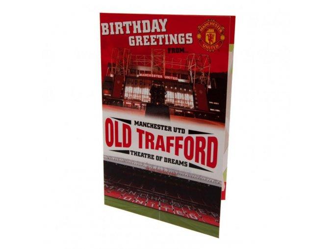 3D Přání Manchester United FC Stadion
