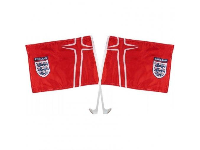 Vlajka Na Okno Auta England FA 2ks