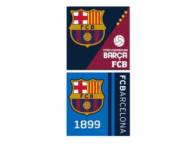 Ručník Barcelona FC Sada 2ks tr