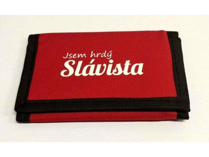 Peněženka Jsem hrdý Slávista