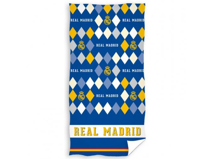Fotbalová osuška Real Madrid Rombo